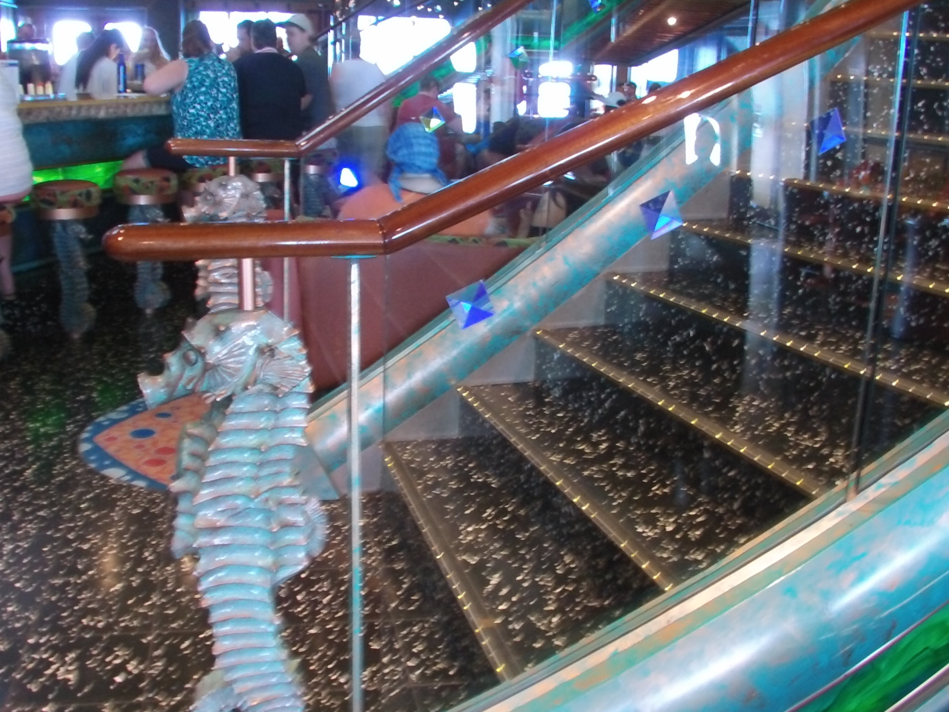 Carnival Victory stairway