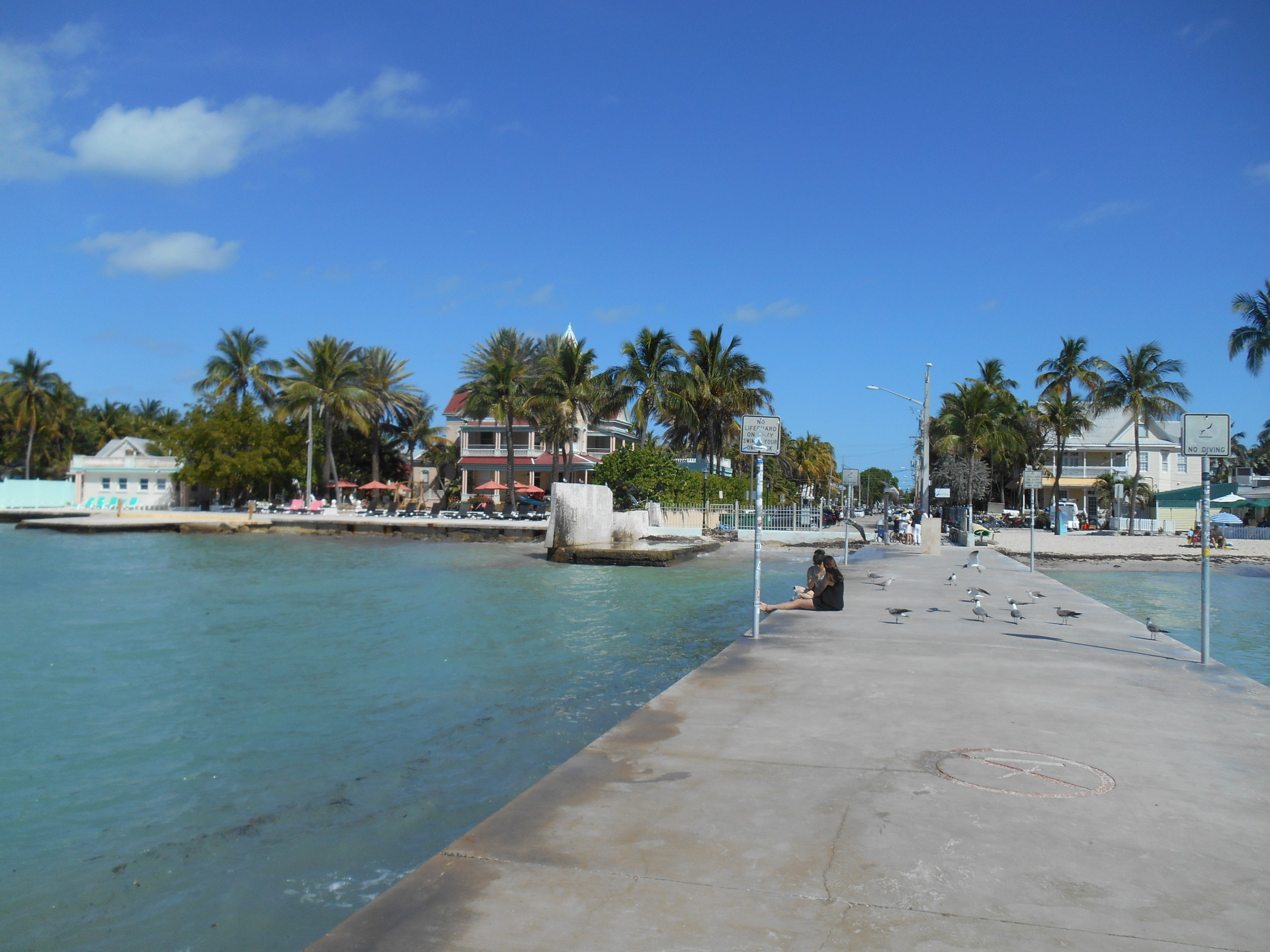 Pier near Southernmost Point