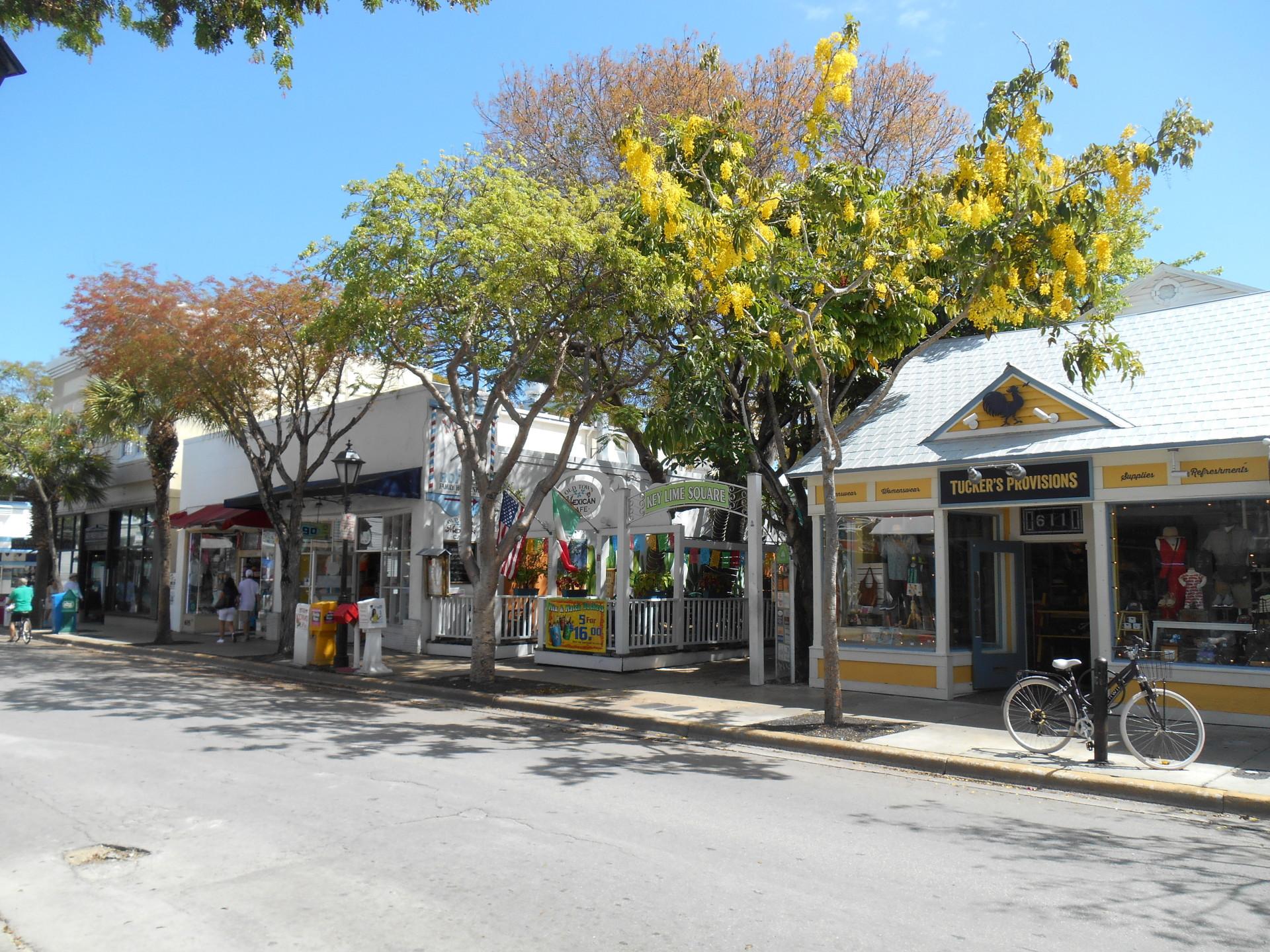 Shops on Duval Street