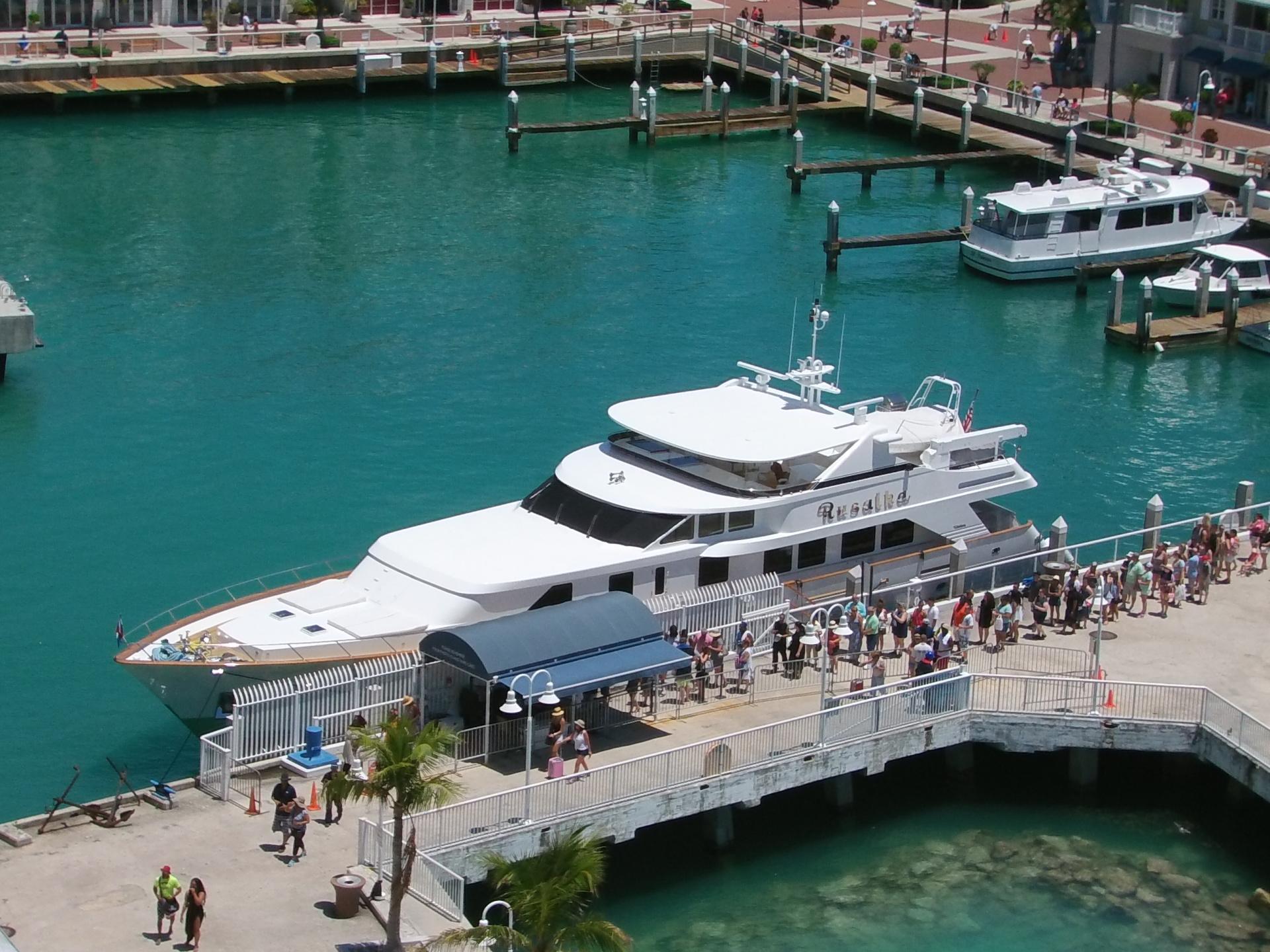 Port and nice yacht
