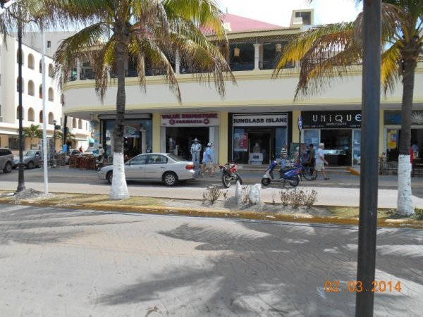Shops in Cozumel