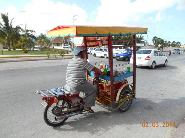 Bicycle Vendor
