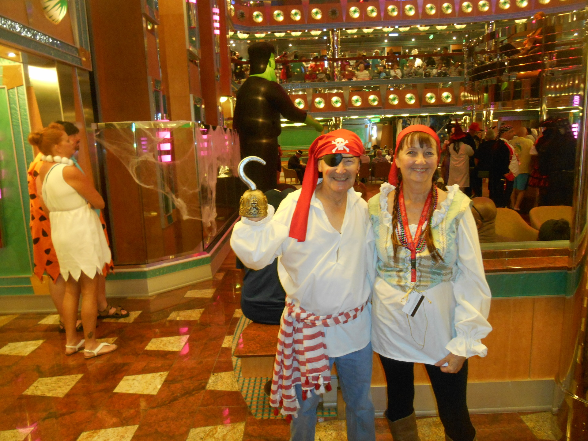 Cruise ship pirates