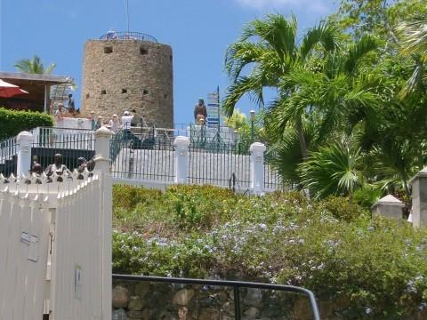 St. Thomas, blackbeards castle