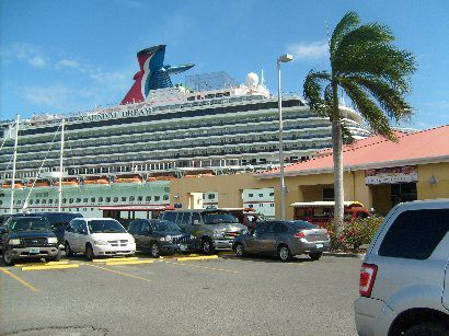 St. Thomas, Carnival Dream, Crown Bay Pier