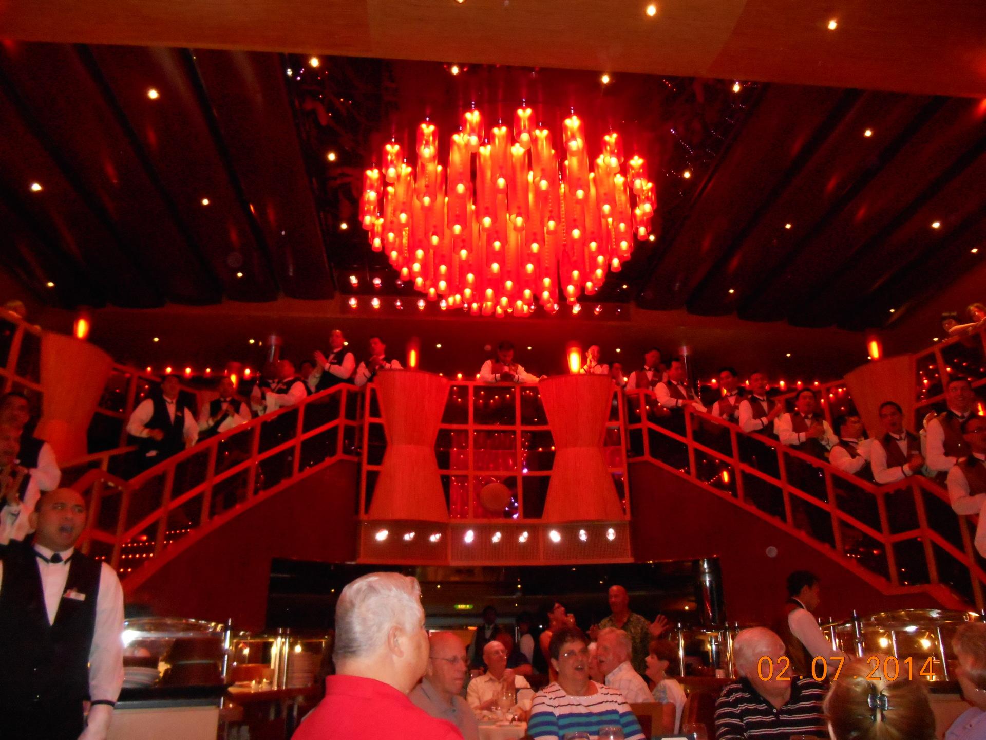 Carnival Dream main dining room