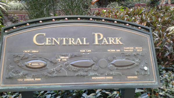 @royalcaribbean #oasisoftheseas #centralpark