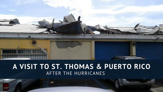 St. Thomas Hurricane Damage