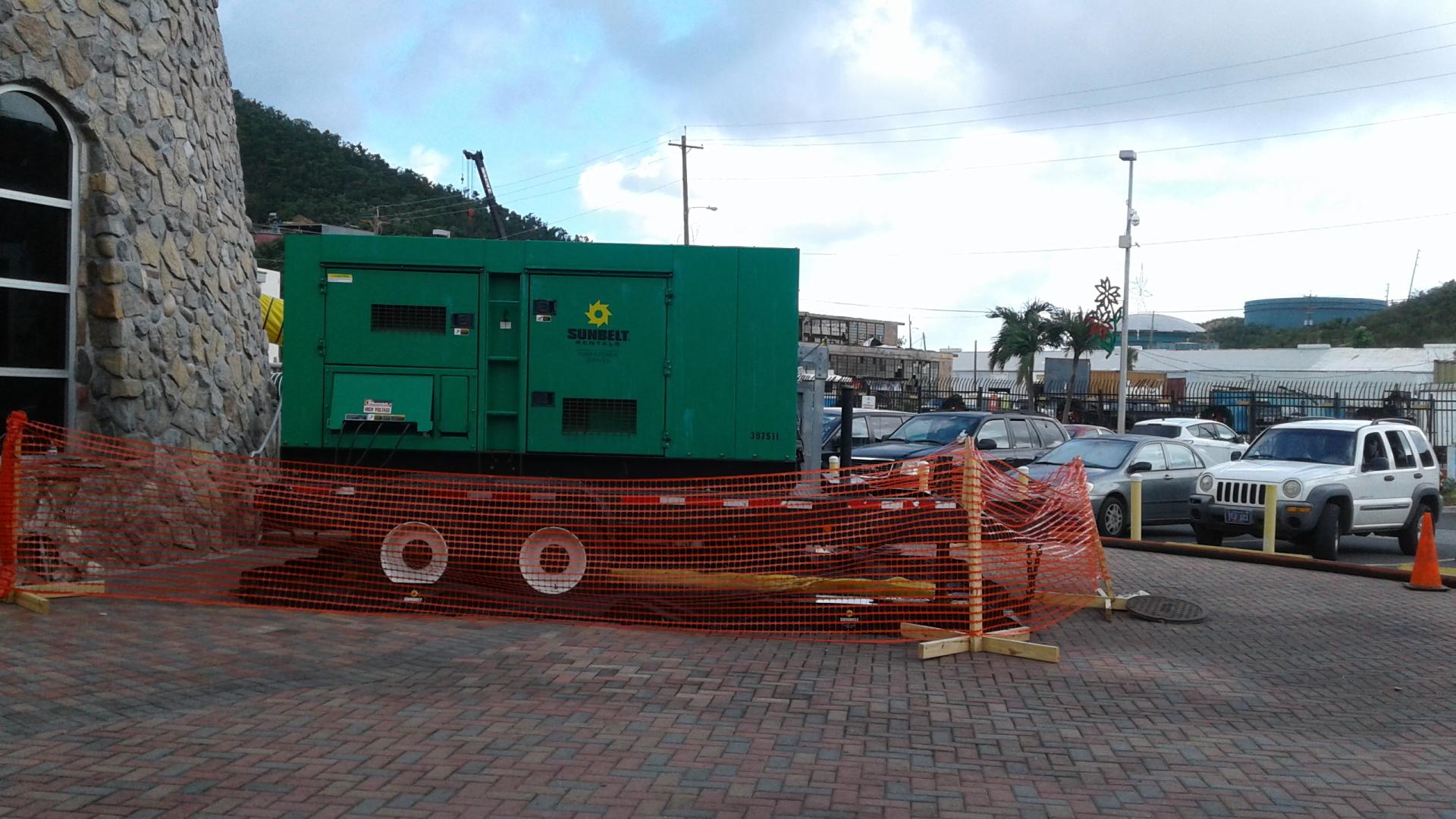 St. Thomas Crown Bay Generator