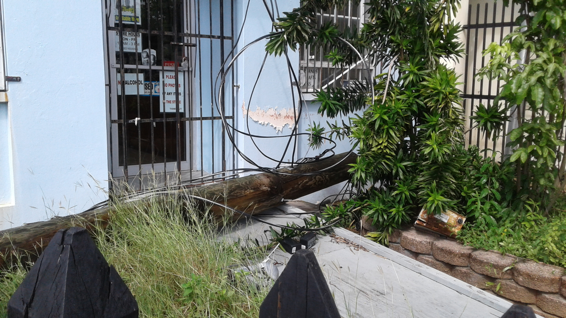St. Thomas Electric lines down