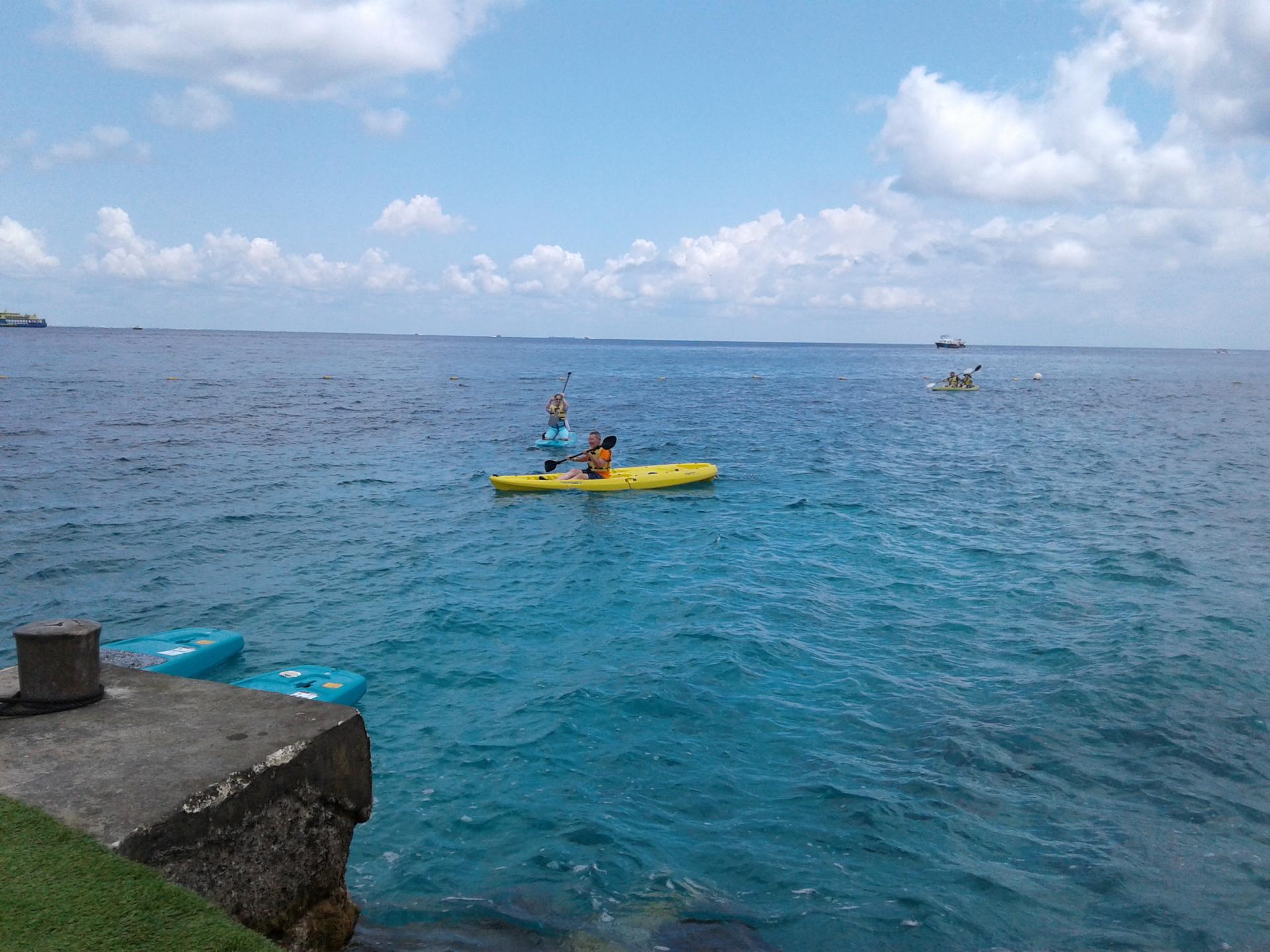 dolphinaris cozumel kayak