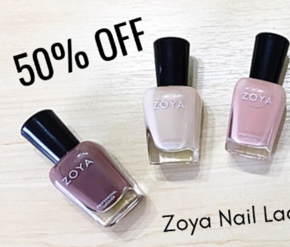 50% OFF Zoya Nail Lacquer