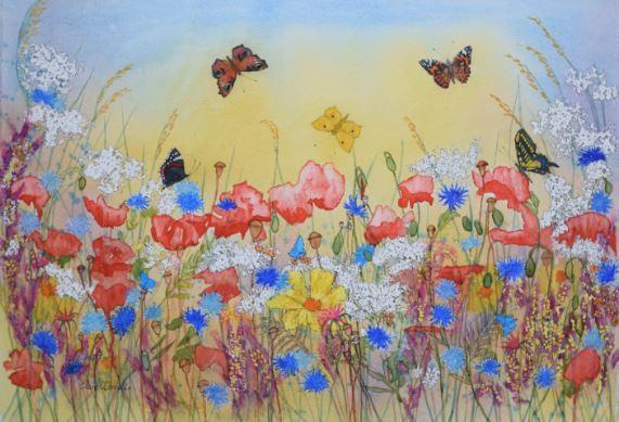 Butterfly Meadow . £250.00.