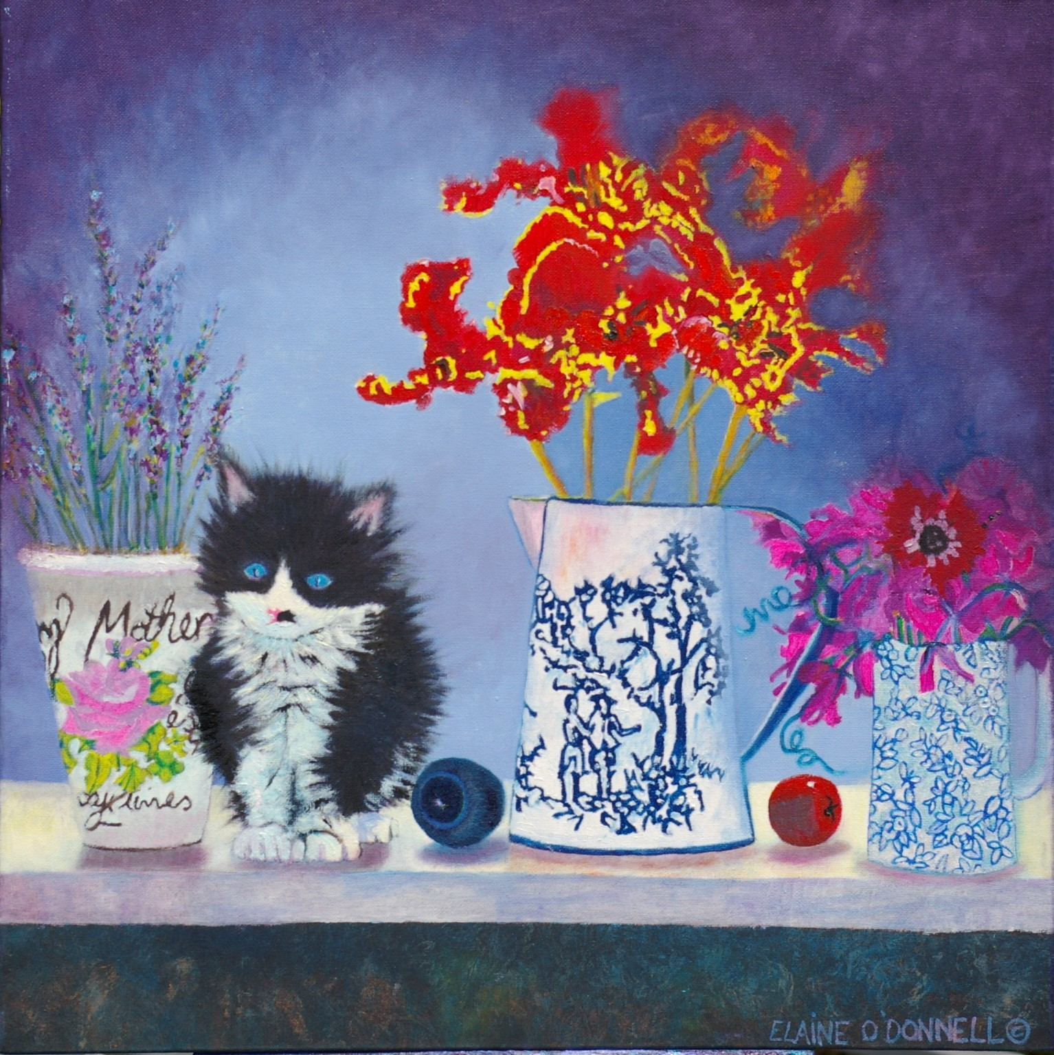 scamps in a still-life.£150.00