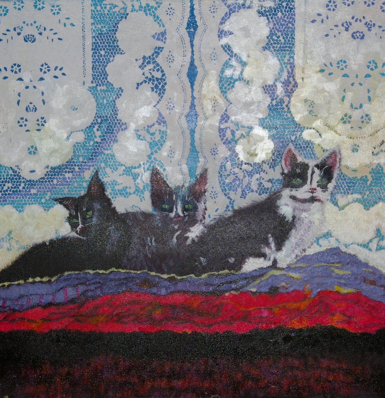 Three french kittens. £150.00