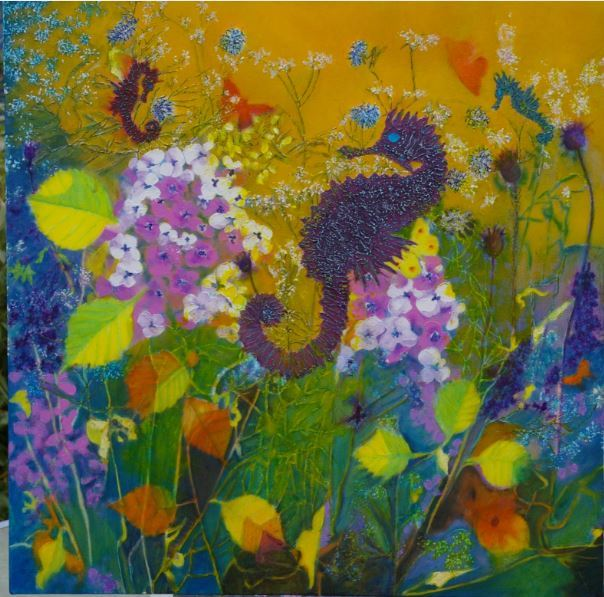 Drifting in a a Sea of Flowers. £180.00