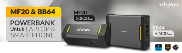 VIVAN POWERBANK MF20 MF64