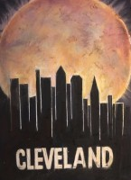 Cleveland Skyline in private Collection of Azur
