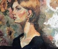 Class study Classical Portrait   Oil on canvas. $500
