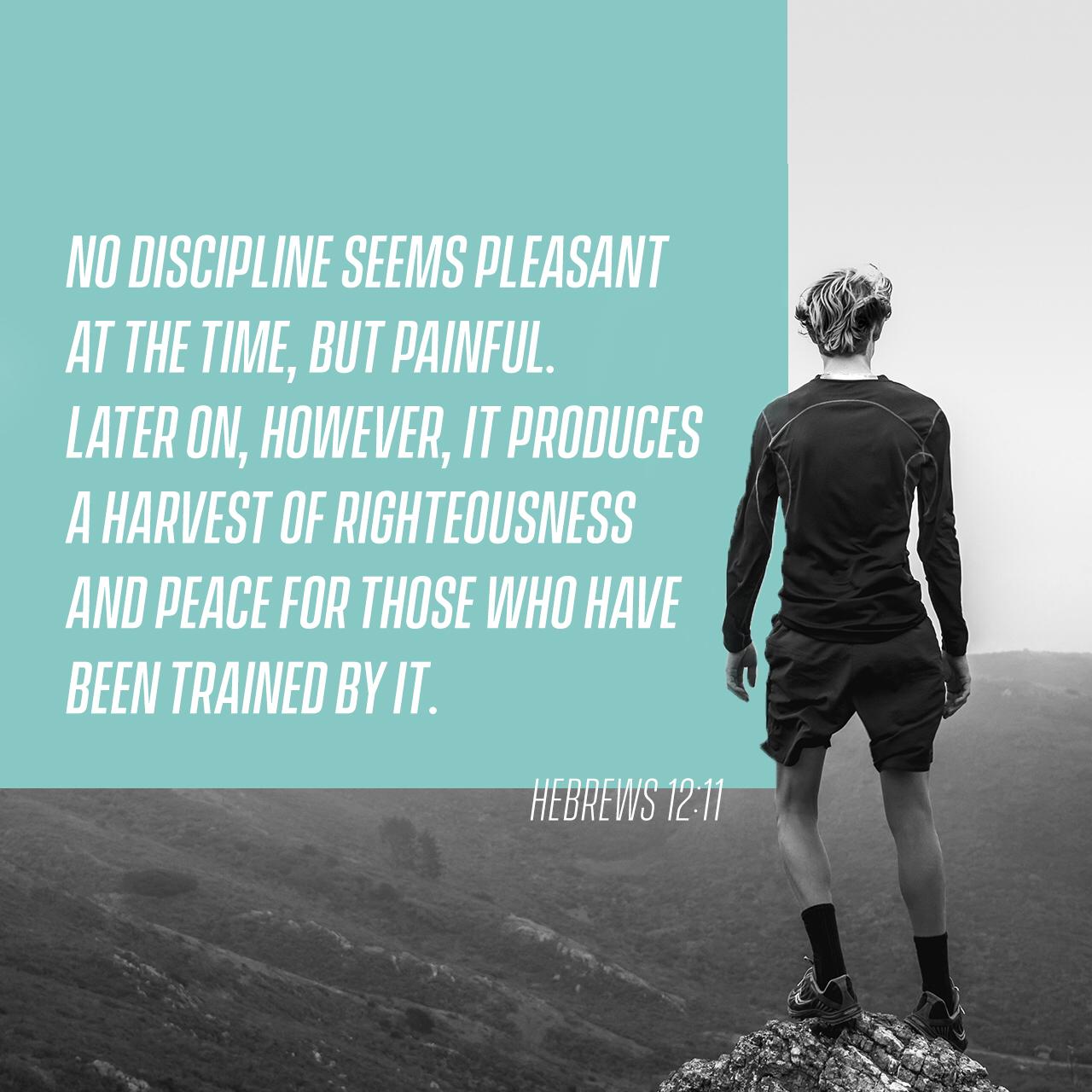 The Benefit Of Discipline