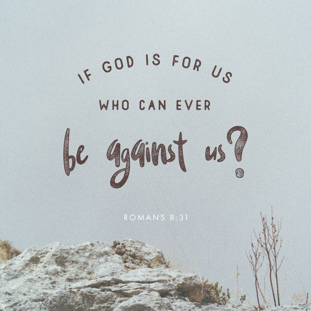 Who Can Stand Against Us?