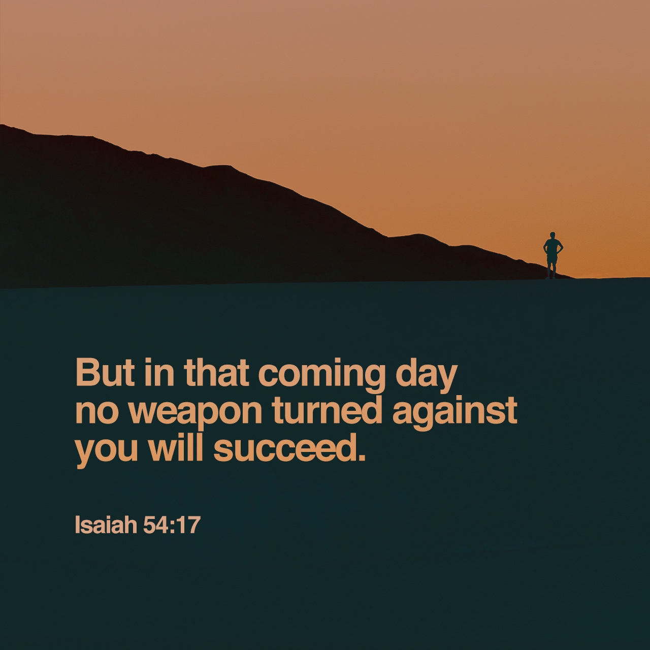No Weapon Turned Against Us