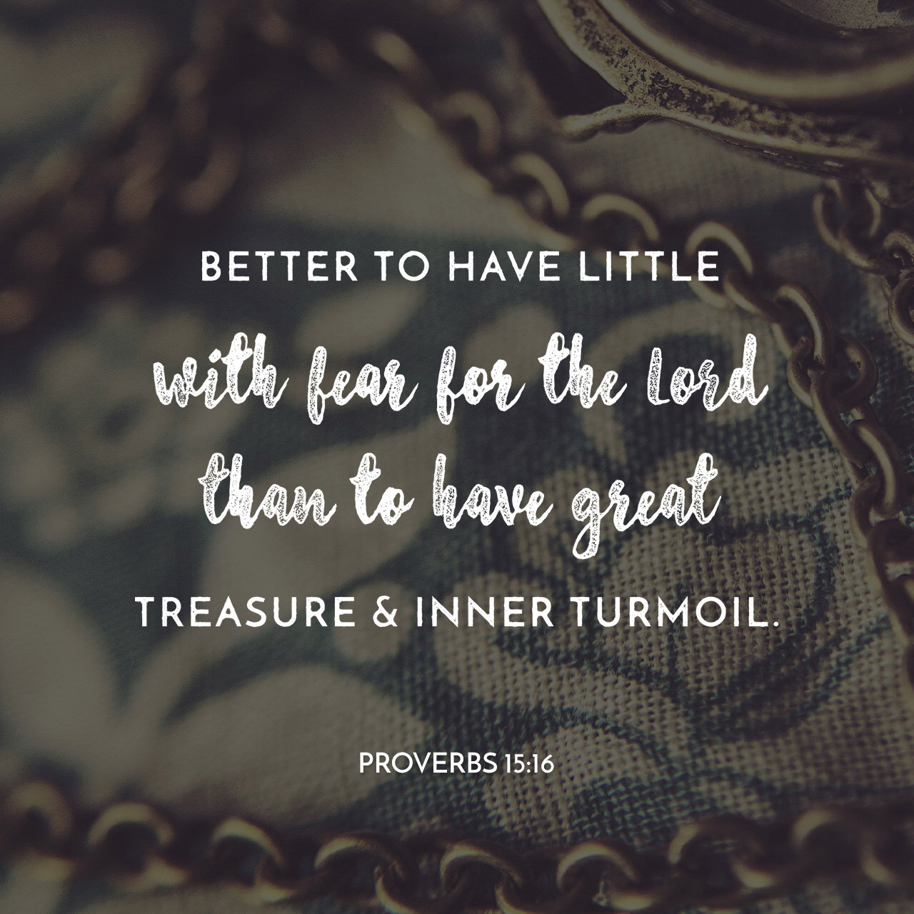 Better To Have Little
