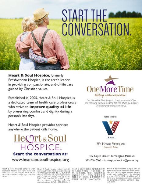 Heart & Soul Hospice® Flyer | Start The Conversation