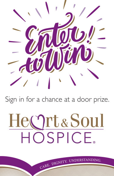Heart & Soul Hospice® Poster | Enter to Win!
