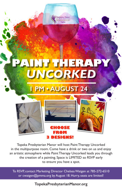 Presbyterian Manors™ of Mid-America Poster   Paint Therapy