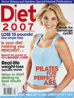 Diet Magazine Cover 2007 Makeup and Hair