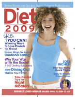 Diet Magazine Cover 2009 Makeup and Hair