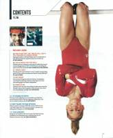 Shawn Johnson ESPN the Magazine, Olympic Edition, Makeup and Hair