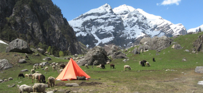 Camping in Himalayas with Rihan Travels