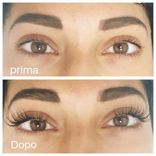 lash extension natural set