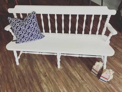 Ethan Allen Vintage Deacon's Bench
