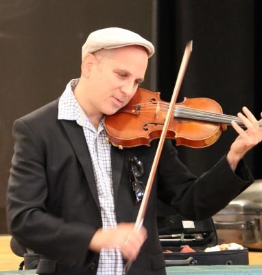 Sam Bardfeld, violinist