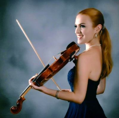 Juliana Sharp, violinist