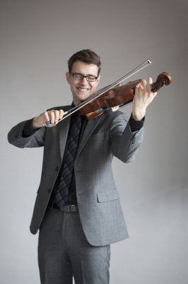 Nick Revel, violist