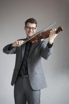 Nick Revel, violist
