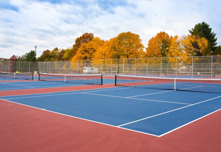 High School Tennis Courts