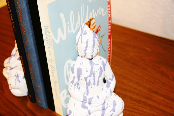 Periwinkle Dripped Bookends