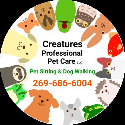 Creatures Professional Pet Care of Kalamazoo