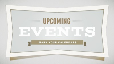 Upcoming/Past Events