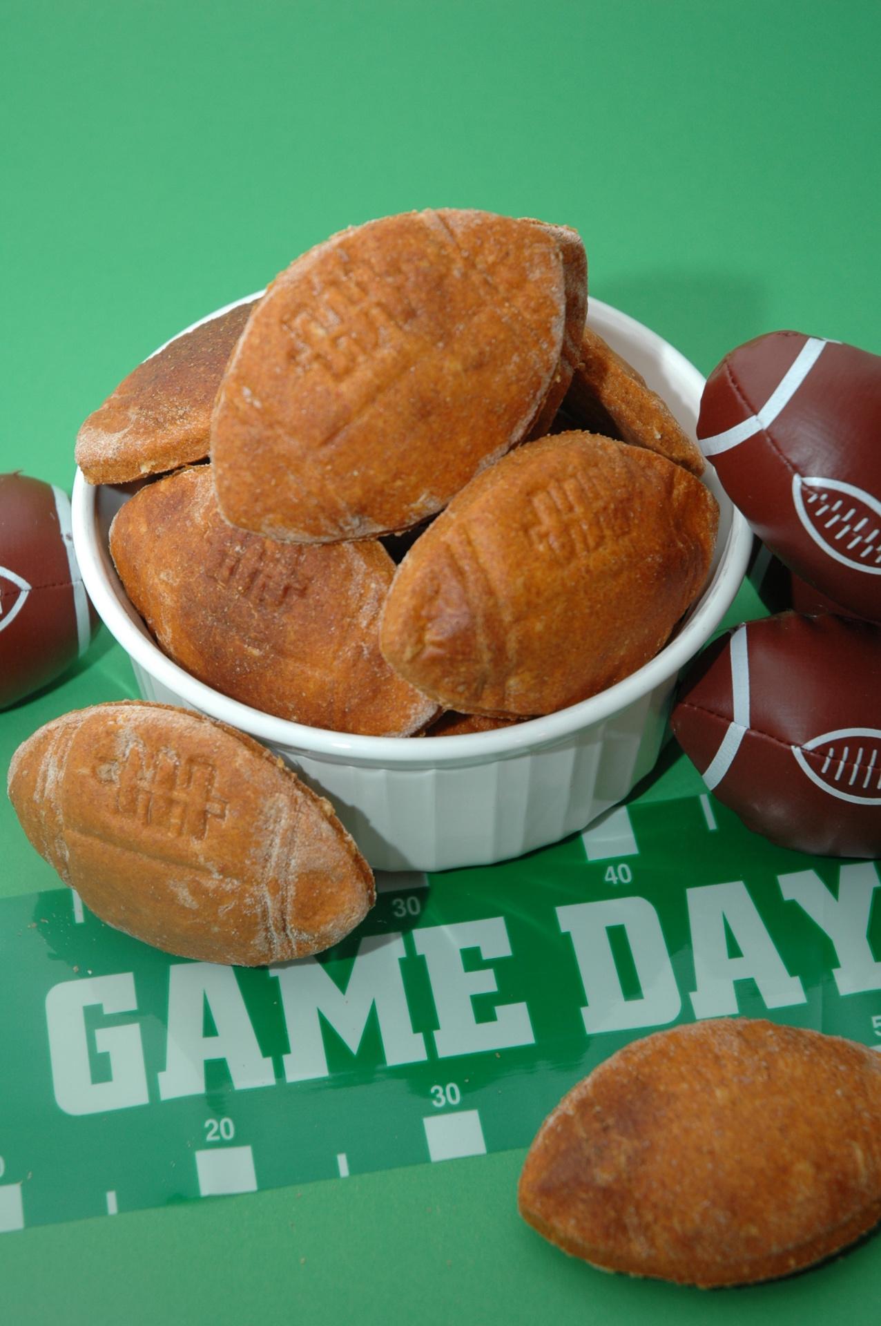 BBQ Football Cookies