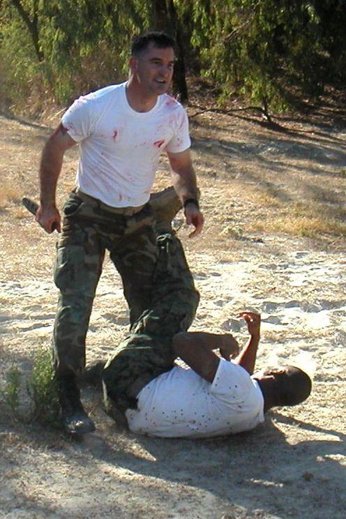 Apache Knife USMC Gunnery Sgt.Orlando Diaz,