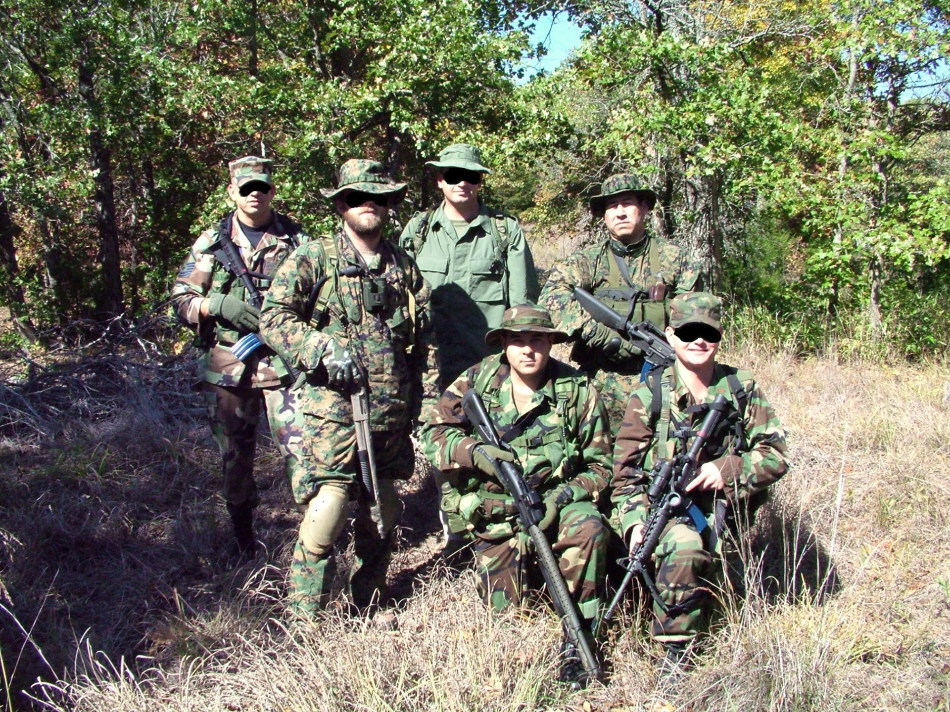 Apache Wolf Tracking Team.