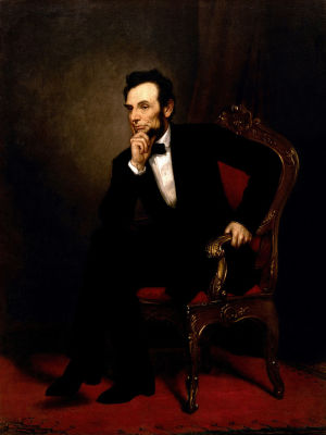 Abraham Lincoln - Healy