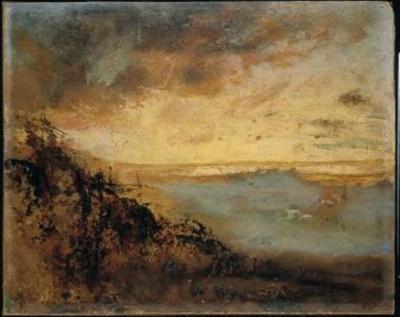 Crépuscule d'or sur les dunes en fôret de Soignes (Golden Sand over Zoniënwoud)