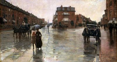 Rainy Day, Boston